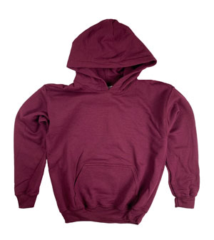 RGRiley | Gildan Youth Garnet Pullover Hoodies | Irregular