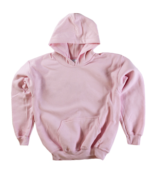 RGRiley | Gildan Youth Pink Pullover Hoodies | Irregular