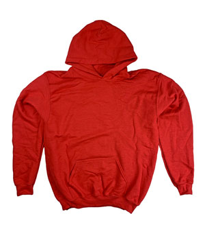 RGRiley | Gildan Youth Red Pullover Hoodies | Irregular