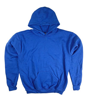 RGRiley | Gildan Youth Royal Pullover Hoodies | Irregular