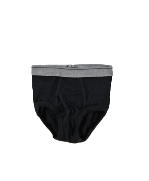 RGRiley | Boys Black Briefs Underwear | Irregular