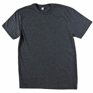 RGRiley | Adult Black Heather T-Shirts | Closeout