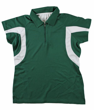 RGRiley | First Quality Womens Champion Dark Green Polo Shirt | Closeout