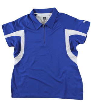 RGRiley | First Quality Womens Champion Royal/White Polo Shirt | Closeout