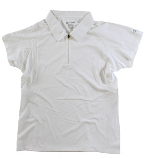 RGRiley | First Quality Womens Champion White Polo Shirt | Closeout