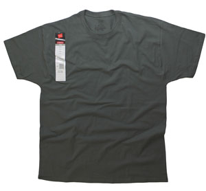 RGRiley.com | Adult Stretch Crew Grey T-Shirts | Closeout