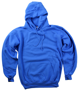 RGRiley | Mens Royal Fleece Pullover Hooded Sweatshirts | Closeout