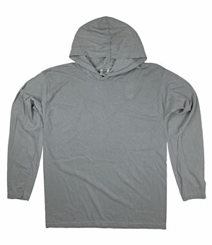 RGRiley | Comfort Colors Mens Grey Long Sleeve T-Shirts | Irregular