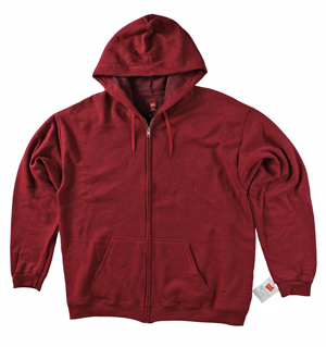 RGRiley | Hanes Mens Chili Pepper Zipper Hood Sweatshirts | Closeout