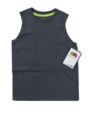 RGRiley | Fruit of the Loom Boys Dakota Slate Muscle Shirts | Closeout