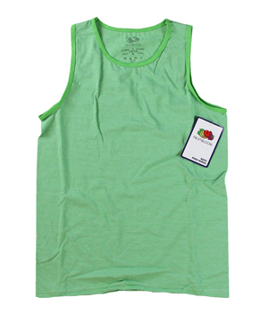 RGRiley | Boys Fruit of the Loom Cycle Microstripe Tank Tops | Closeout