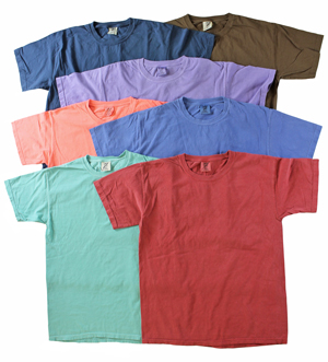 RGRiley | Gildan Adult Comfort Color T-Shirts | Mill Graded Irregular