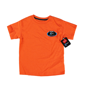 RGRiley | Hanes Youth Dark Tangerine Heather X-Temp T-Shirts | Closeout