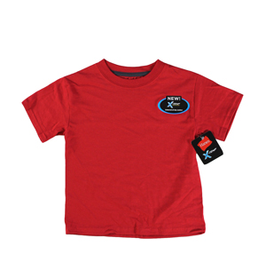 RGRiley | Hanes Youth Salsa Red X-Temp T-Shirts | Closeout