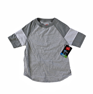 RGRiley | Hanes Boy Light Steel / Oxford T-Shirts | Closeout