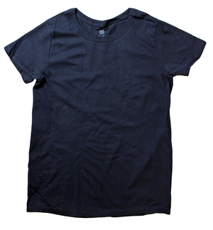 RGRiley.com | Womens Plus Size Navy Crew T-Shirts | Closeout