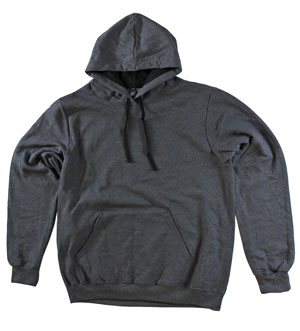 RGRiley.com| Adult Charcoal Hooded Sweatshirts | Irregular
