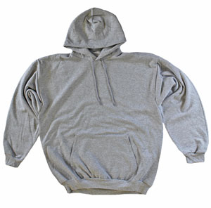RGRiley.com | Adult Heather Grey Hooded Sweatshirts | Irregular