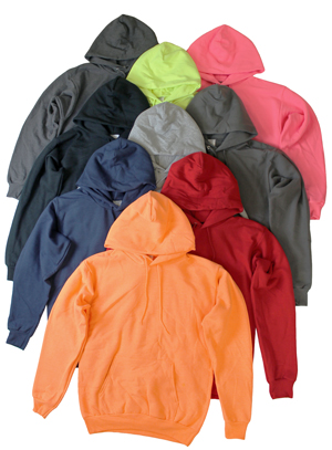RGRiley.com | Adult MIxed Colors Hooeded Sweatshirts | Irregulars