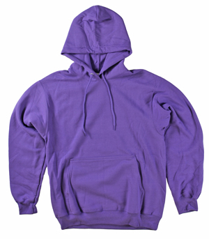 RGRiley | Mens Purple Pullover Hooded Sweatshirts | Irregular