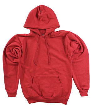 RGRiley.com | Adult Red Hooded Sweatshirts | Irregular