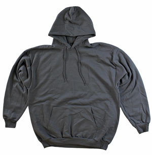 RGRiley.com | Adult Smoke Grey Hooded Sweatshirts | Irregular