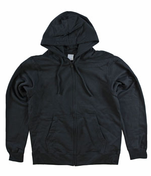 RGRiley | Mens Black Zipper Hooded Private Label | Irregular