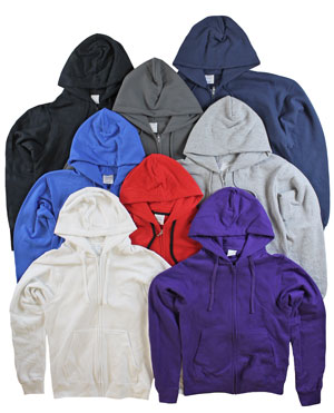 RGRiley | Mens Mixed Colors Zipper Hooded Private Label | Irregular