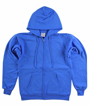 RGRiley | Mens Royal Zipper Hooded Private Label | Irregular