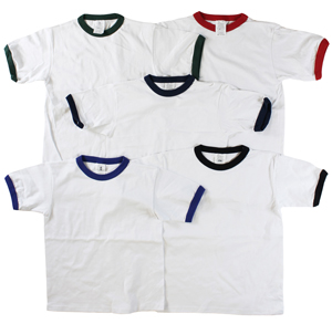 RGRiley | Boys Jersey Ringer Short Sleeve T-Shirts | Irregular