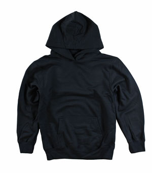 RGRiley | Youth Black Pullover Hoods | Slightly Irregular