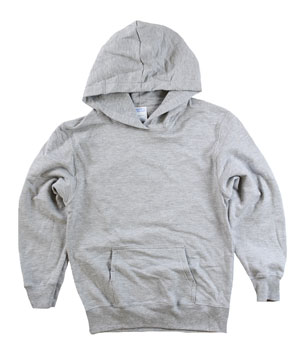 RGRiley | Youth Heather Grey Pullover Hoods | Slightly Irregular