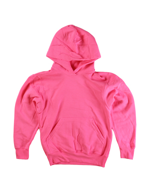 RGRiley | Youth Neon Pink Pullover Hoods | Slightly Irregular
