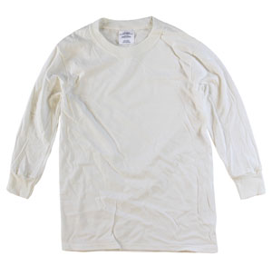 RGRiley | Youth Kids Bulk  Long Sleeve Natural T-Shirts | Irregular