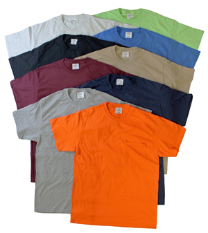 style E775P |Big Mens Irregular Pocket T's