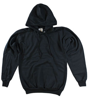 RGRiley | Mens Black Fleece Pullover Hoodies | Closeout