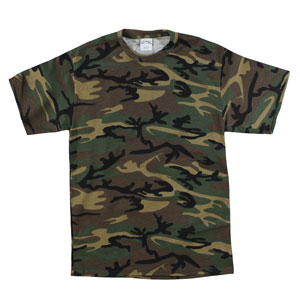 RGRiley | Mens Green Camo T-Shirts | Closeout