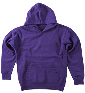 RGRiley | Boys Purple Fleece Pullover Hoodied Sweatshirts | Closeout