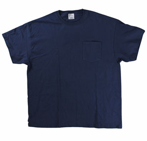 RGRiley | Mens Navy Pocket T-Shirts | Closeout