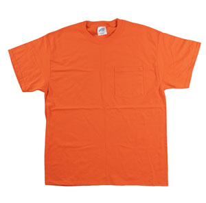 RGRiley | Mens First Quality Orange Tee Shirts | Closeout