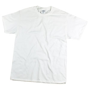 RGRiley | Mens White Jersey T-Shirts | Mill Graded Irregular