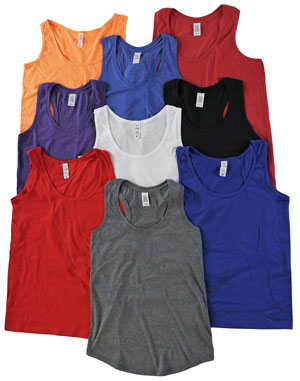 RGRiely | Womens Jersey Tank Tops | Irregular
