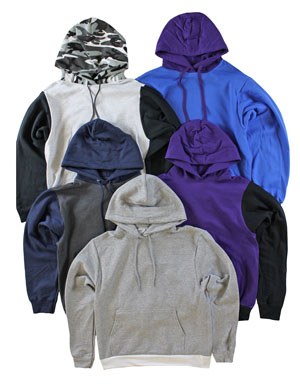 RGRiley | Boys Color Block Pullover Hoodies | Irregular
