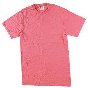 RGRiley | Mens Bulk Garment Dyed T-Shirts Fruit Punch | Graded Irregular