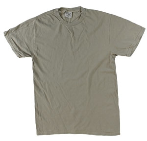 RGRiley | Mens Wholesale Garment Wash T Shirts Taupe | Graded Irregular
