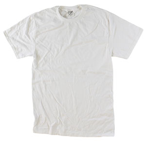 RGRiley | Mens Wholesale Garment Wash T Shirts White | Graded Irregular