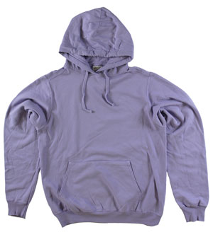 RGRiley | Adult Bulk Amethyst Garment Dyed Hooded Sweatshirts | Irregular