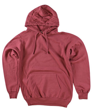 RGRiley | Adult Bulk Merlot Garment Dyed Hooded Sweatshirts | Irregular