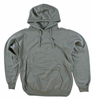 RGRiley | Adult Bulk Pewter Garment Dyed Hooded Sweatshirts | Iregular