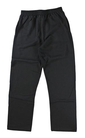 RGRiley | Mens Black Fleece Sweatpants | Irregular